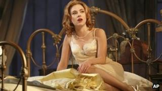Scarlett Johansson is currently starring in Cat on a Hot Tin Roof