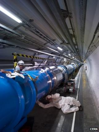 LHC beamline