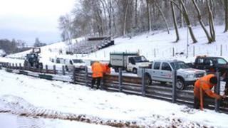 Cadwell Park workers