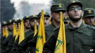 Hezbollah fighters (file photo)