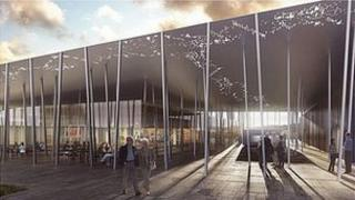 New visitor building for Stonehenge