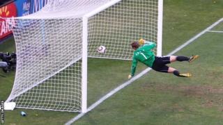 Frank Lampard's 'goal' that wasn't given