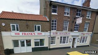 Frank's fish and chip shop, Wisbech