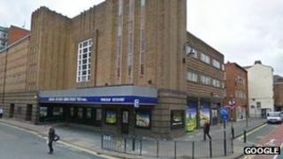 Odeon cinema on Hunter Street, Chester