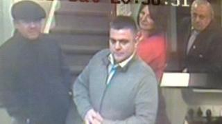 Milsom diners theft suspects