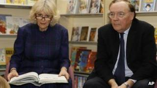 Duchess of Cornwall and James Patterson