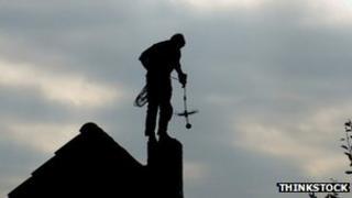 Chimney sweep. Pic: Thinkstock