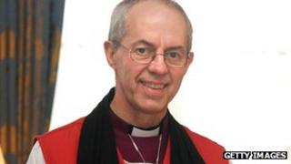 Most Reverend Justin Welby