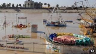 River Tigris in Iraq