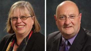 Carolyn Rule and Lance Kennedy