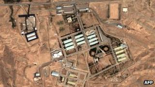 Parchin site, Iran, pictured in 2004