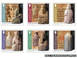 Lewis Chessmen Stamps