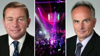 Philip Hollobone, nightclub, Peter Bone