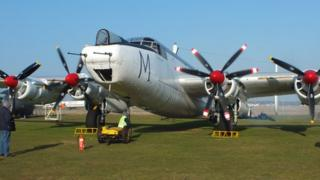 Shackleton WR 963 at Coventry Airport