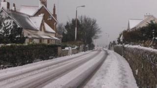 Snow in Guernsey