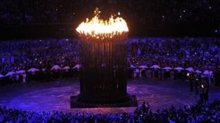 Olympic cauldron