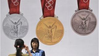 Beijing Olympics medals