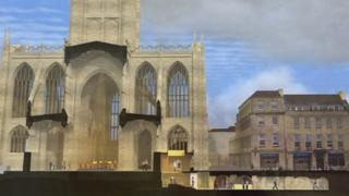Artists impression of planned expansion