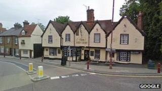 Red Lion pub, Stanstead Abbotts