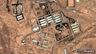 Facilities at Parchin in Iran said to be involved in nuclear weapons research
