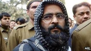 Afzal Guru in December 2002