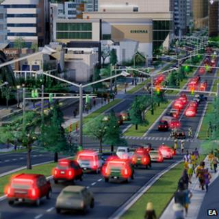 Screenshot from SimCity