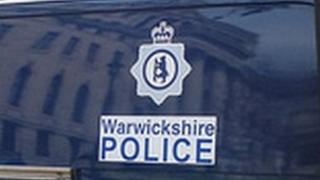 Warwickshire Police van