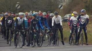 Junior Heffernan memorial riders