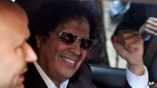 Ahmed Gaddaf al-Dam, arrested in Cairo, 19 March