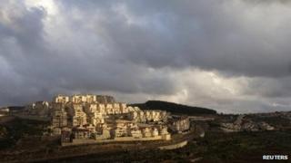 Jewish settlement of Efrat, near Bethlehem (17 March 2013)