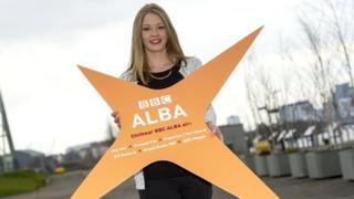 BBC Alba presenter Fiona MacKenzie