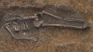 Skeleton discovered in Cambridge