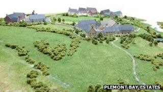 Plans for the Plemont headland