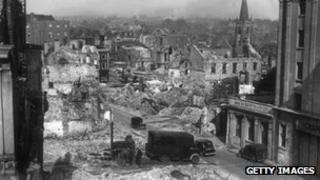 Plymouth during World War II