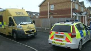 Police in Penshaw Close, West Derby