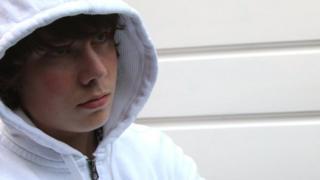 An unhappy boy