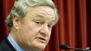 North Dakota Governor Jack Dalrymple file picture