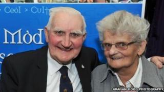 Tom agus Raghnaid Mitchell