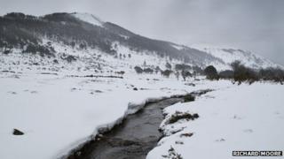 Richard Moore Aughnacloyin the Mourne Mountains. w
