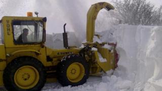 Denbighshire snow clearance