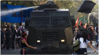 Student protest in Chile