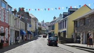 Victoria Street in Alderney