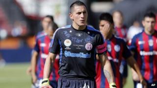 Pablo Migliore after match against Colon