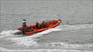 Kinghorn RNLI Lifeboat