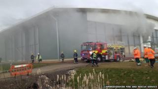 Fire at AmeyCespa