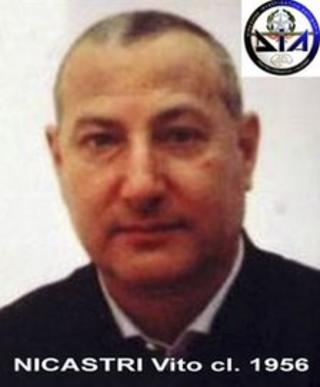 Vito Nicastri in a file handout photo released by Italy's Defence Intelligence Agency, 3 April