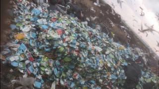 Cartons dumped in Guernsey landfill