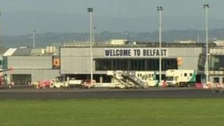 Security around Belfast International Airport is set to intensify