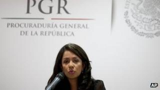Prosecutor Mariana Benitez (4 April,2013)