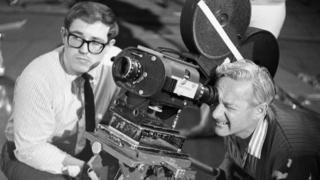 Film crew at Ealing, 1967